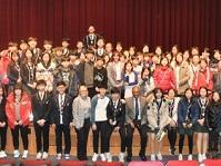 Children and youth who met recently with UNISDR to discuss the Sendai Framework in Incheon, Republic of Korea