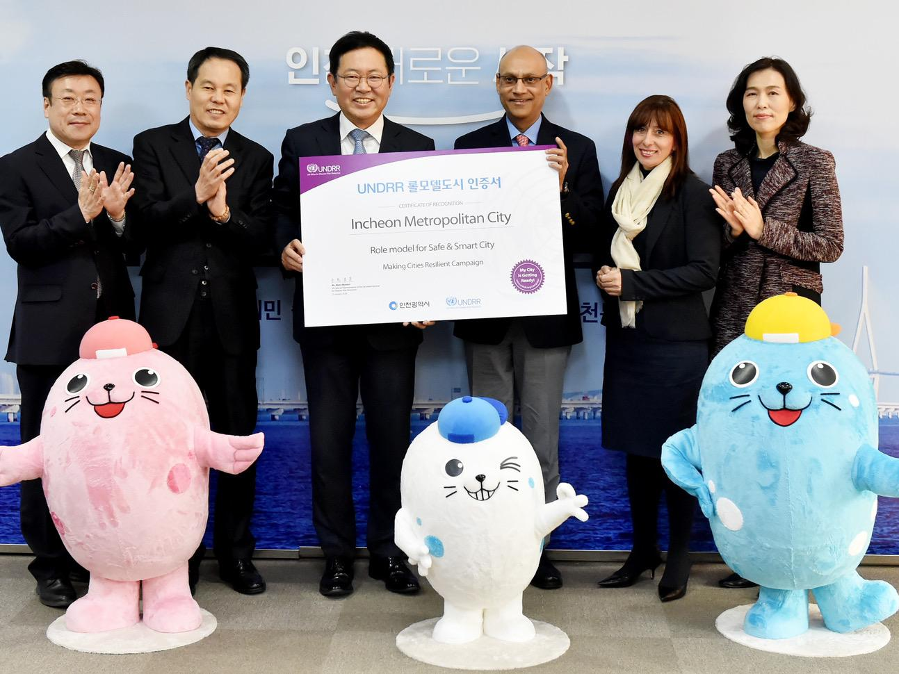 Safe And Smart City Incheon Is Recognized As A Role Model City Undrr