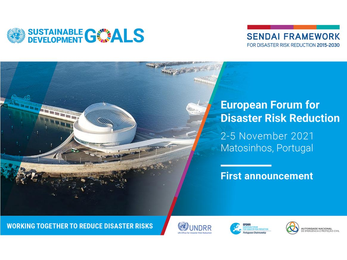 EFDRR announcement image