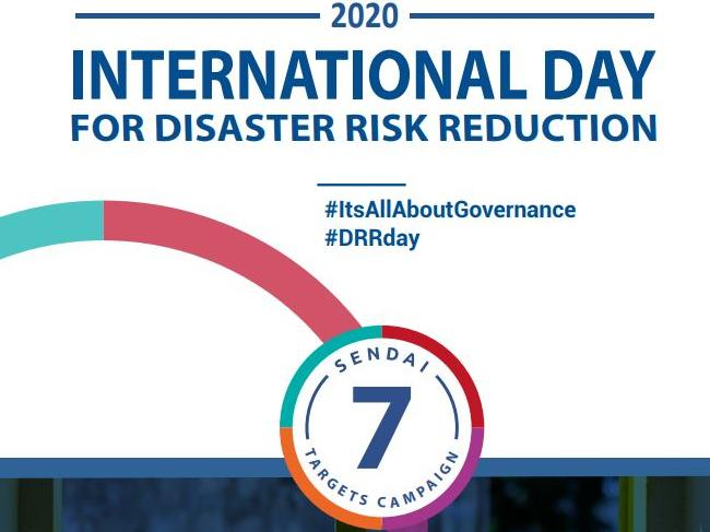 Concept Note International Day for Disaster Risk Reduction