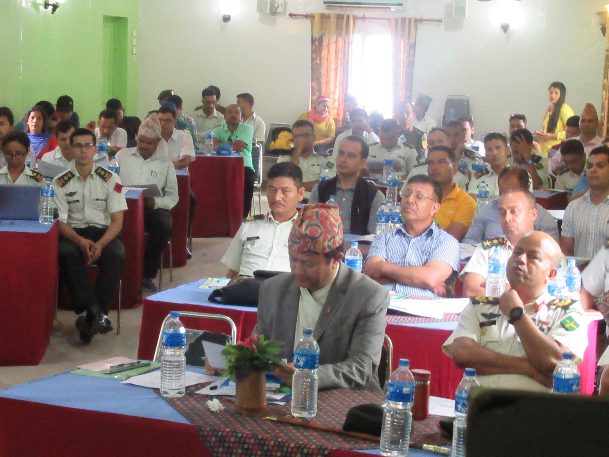 To ensure an inclusive approach to strategy development, the Sudurpaschim provincial government organized consultations in a number of districts. This is a photo of one such event on 30 June 2019.