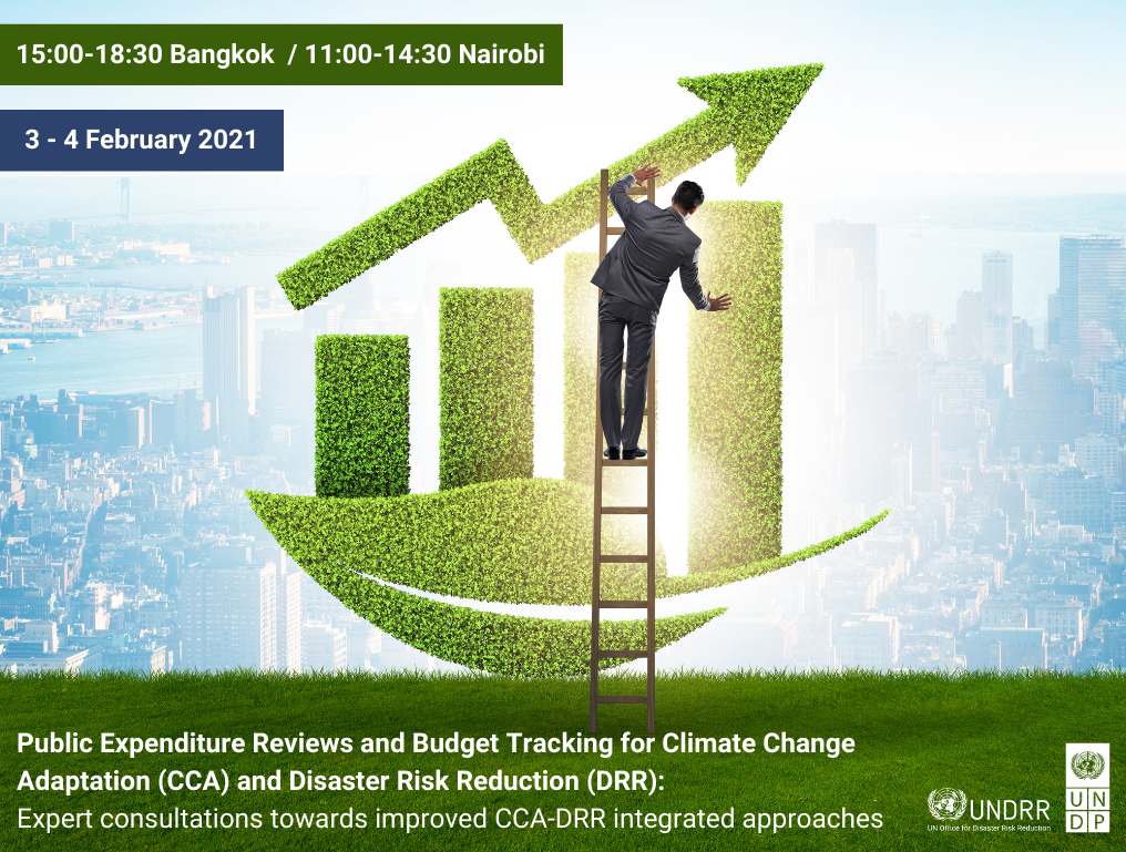 Event image for CCA and DRR budgets