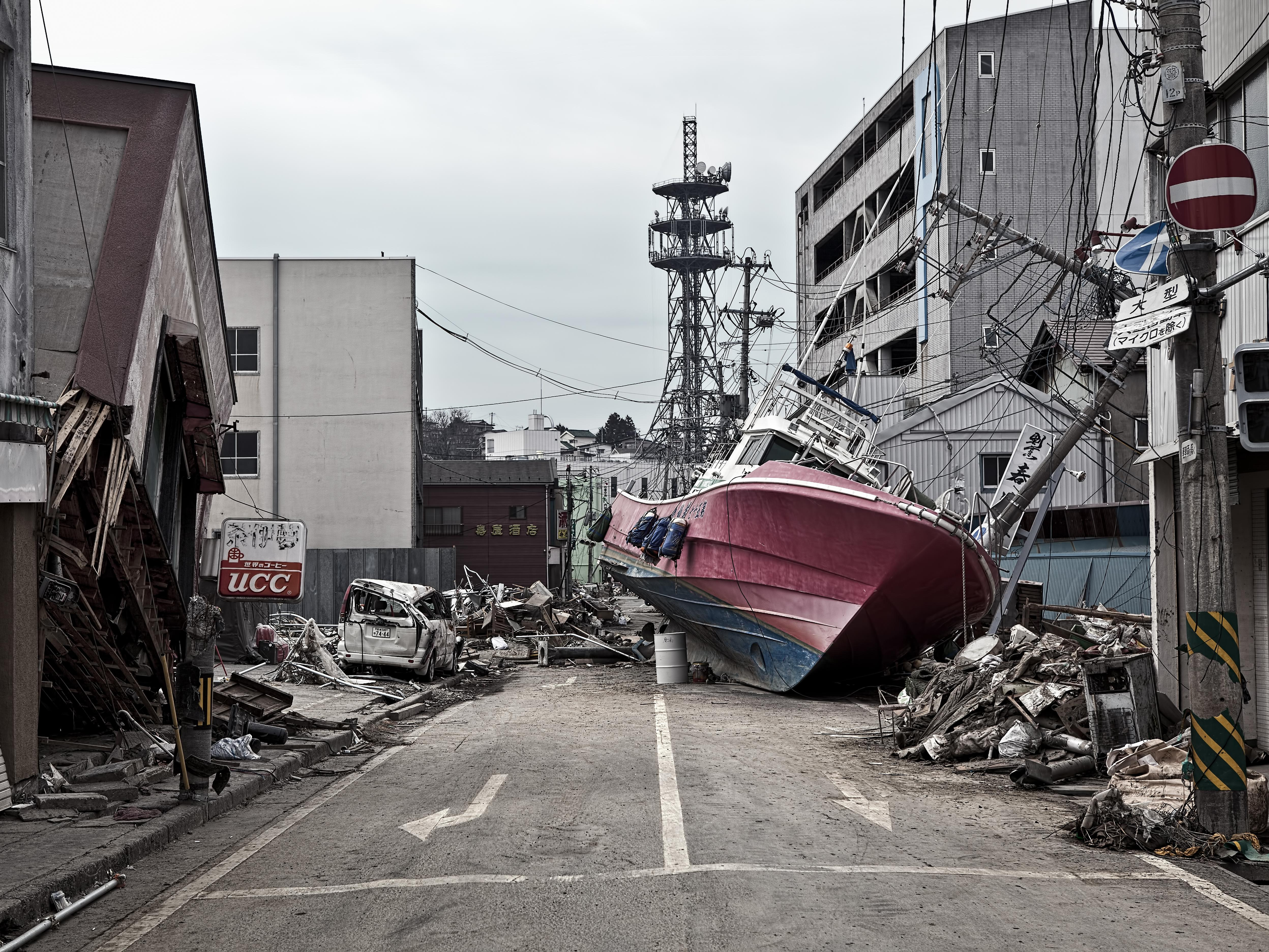 Impact of the 2011 he Great East Japan Earthquake and Tsunami on Fukushima, Japan.