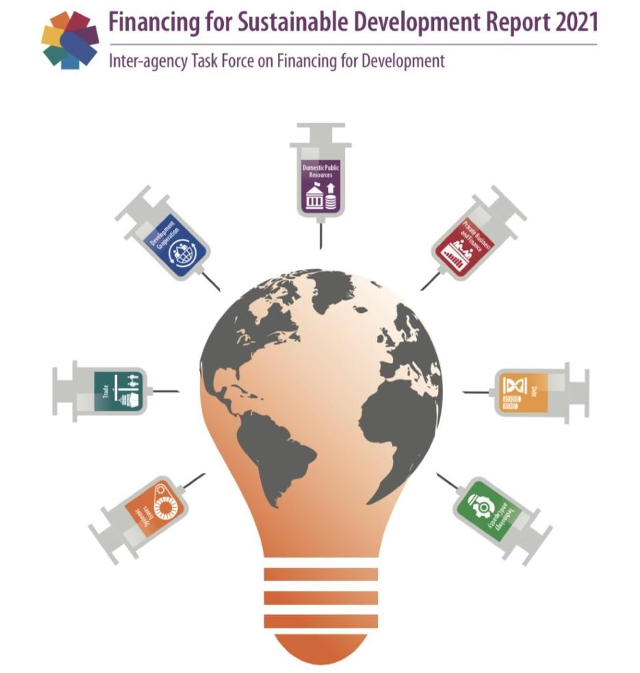 Front Cover of the 2021 Financing for Sustainable Development Report