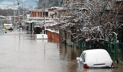 Flooding in Svilengrad, Bulgaria
