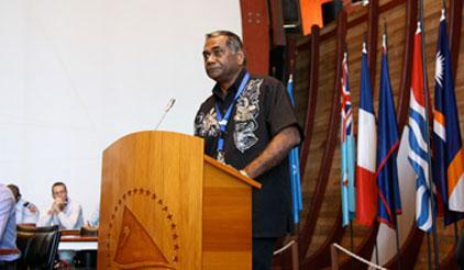 Dr Jimmie Rodgers, Director-General of the Secretariat of the Pacific Community (SPC).