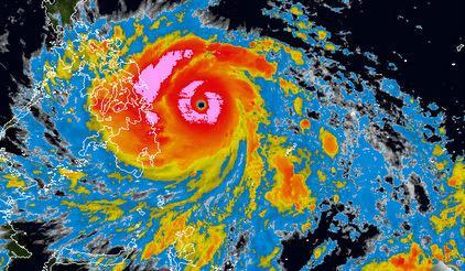 Super Typhoon Haiyan is bearing down on the Philippines and is due to make landfall Friday.