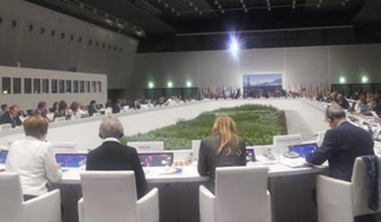 Representatives from 40 countries convened in Milan this week and agreed recommendations for a new global agreement on disaster risk reduction.They were hosted by the Italian Presidency of the EU Council. (Photo: UNISDR)