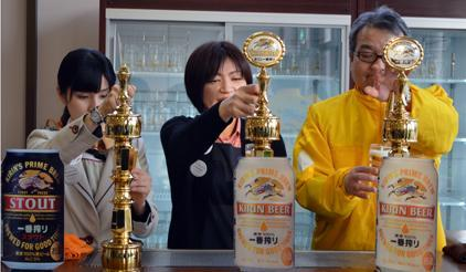 Kirin Brewery's Sendai plant resumed business months after the March 2011 earthquake and tsunami. (Photo: UNISDR)