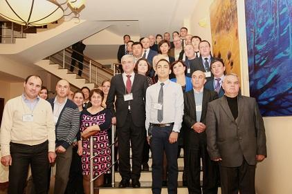 Participants at the regional workshop have gathered to chart the course for greater urban resilience in Central Asia and the South Caucasus (Photo: UNISDR)