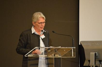 Ms. Margareta Wahlström, Head of the UN Office for Disaster Risk Reduction, addresses the GLOBE Summit (Photo: UNISDR)