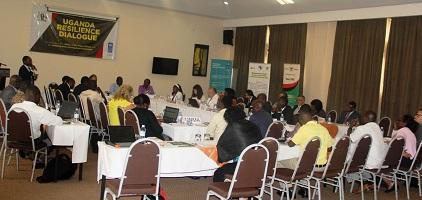 Participants at the Uganda Resilience Dialogue in Kampala (Photo: UNISDR)