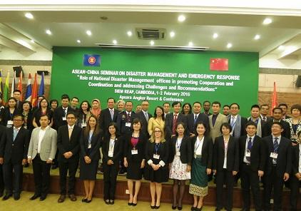 ASEAN members' National Disaster Management Offices and their staff have been at the forefront of establishing and implementing the world's first and only legally-binding regional framework on disaster management (Photo: UNISDR)