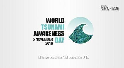 The theme of the first edition of World Tsunami Awareness Day is education and evacuation (Photo: UNISDR/Ramon Valle)