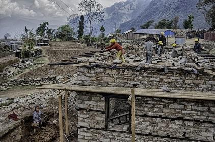 Post-earthquake reconstruction efforts get underway in Nepal (Photo: International Federation of Red Cross and Red Crescent Societies)