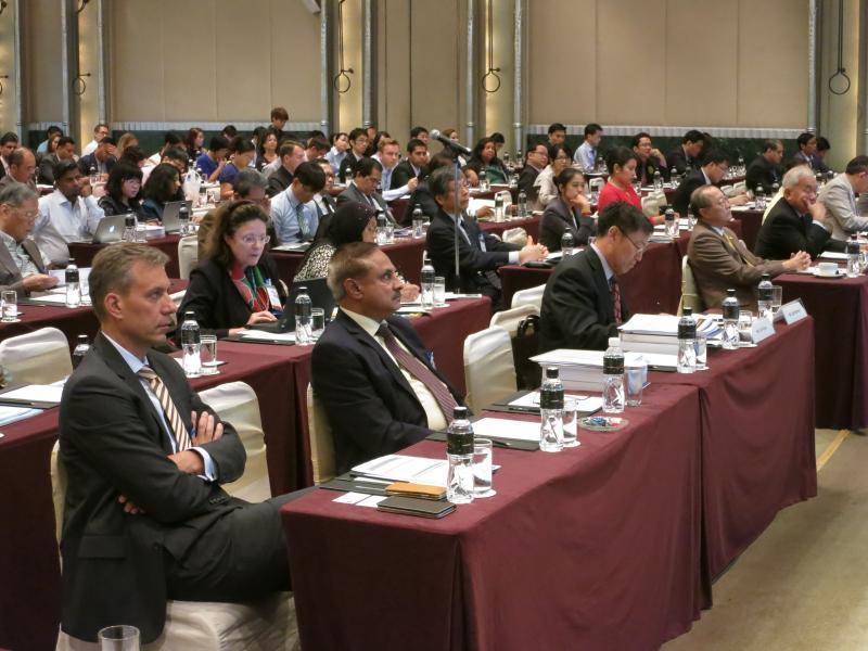 The attendance at the opening today of the 1st Asia Science and Technology Conference for Disaster Risk Reduction