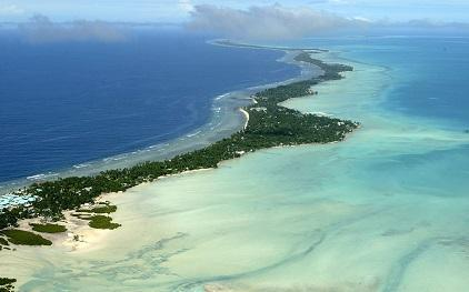 Kiribati, made up of low-lying atolls, is one of the most climate-vulnerable nations in the world