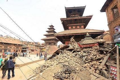 Several cultural heritage sites were damaged or destroyed in the 2015 earthquake in Nepal (Photo: UNDP)