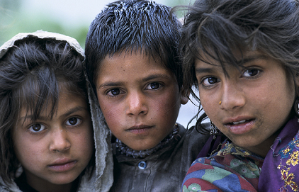 Portrait of children in Pakistan. Photo: Curt Carnemark / World Bank