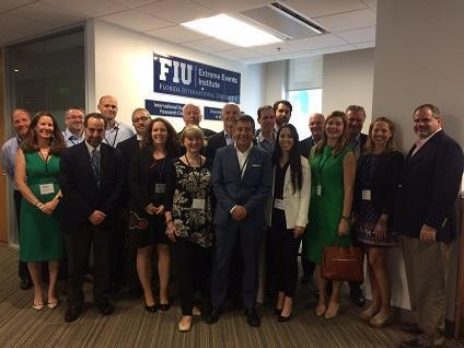 Members of newly launched US-ARISE at Florida International University yesterday