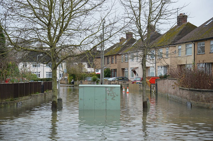 Floods in the United Kingdom (Photo: UK Government)