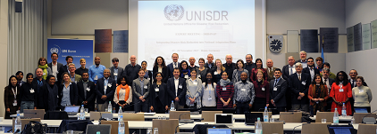 Participants at the UNISDR Expert meeting on Integrating Disaster Risk Reduction into National Adaptation Plans (photo: UNISDR)