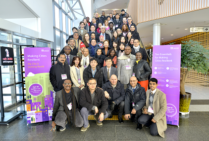Participants at the 'Training of Trainers on Making Cities Resilient: Developing and Implementing Disaster Risk Reduction Action Plans' workshop (photo: UNISDR)