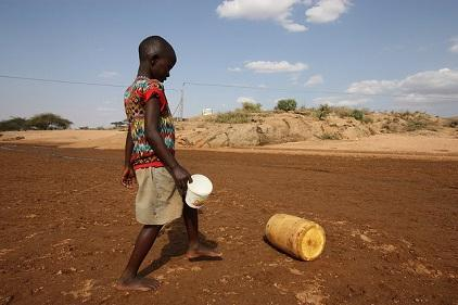 The dry and arid region of Isiola in Kenya where droughts are recurrent. Photo ©EU/ECHO/Martin Karimi