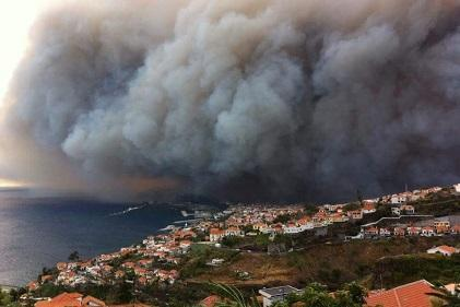 Forest fires are a major concern for European scientists working on disaster risk.
