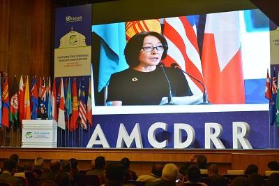 UNISDR head Mami Mizutori told the opening of AMCDRR that extreme weather events are driving disaster displacement in the region