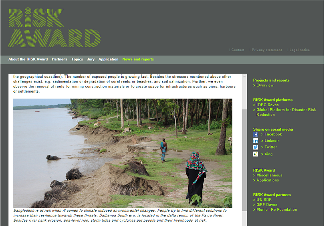 The Risk Award 2019 will celebrate efforts in coastal resilience