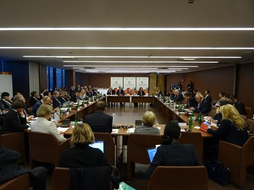 A High Level Roundtable convened today at the European Forum for Disaster Risk Reduction