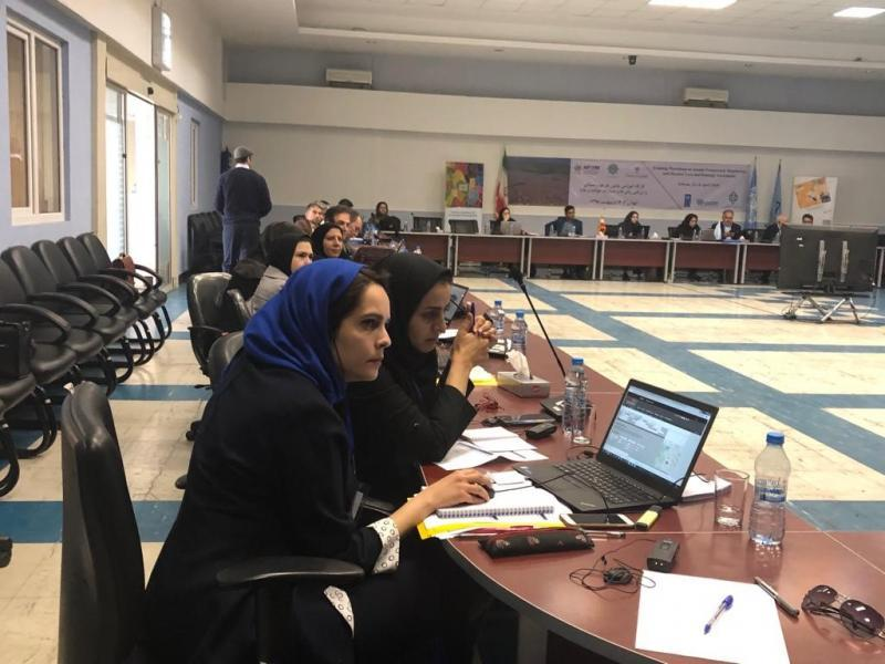 The training workshop in Tehran brought together participants from central and local government, UN, humanitarian organizations, academia and the media (c) UNDRR