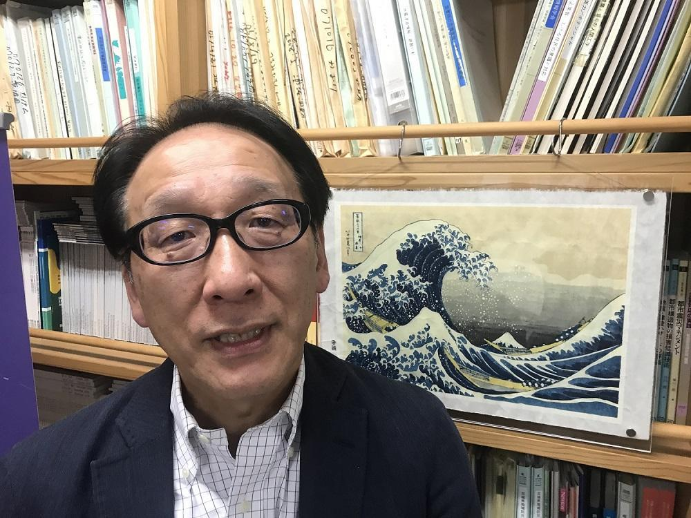 Fumihiko Imamura, Professor of Tsunami Engineering at Tohoko University