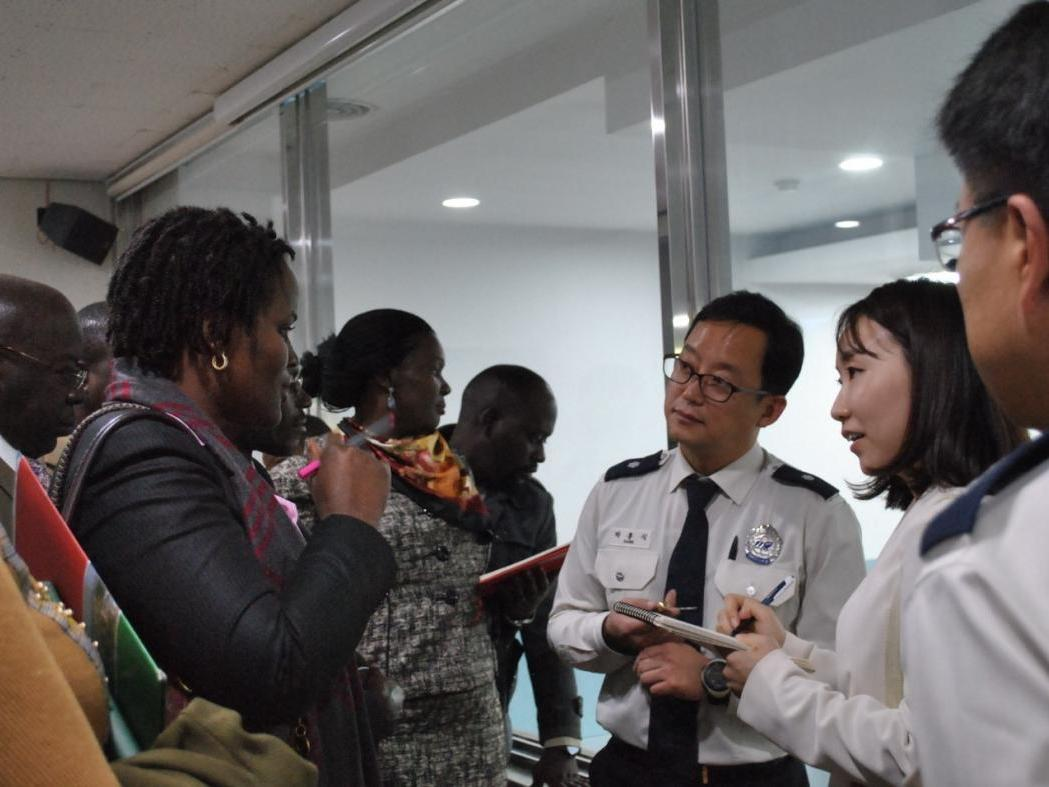 Kampala Capital City Authority and Incheon Metropolitan City Officials Discuss Real Time Response Mechanisms