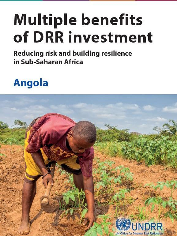 Multiple Benefits of DRR: Angola cover page