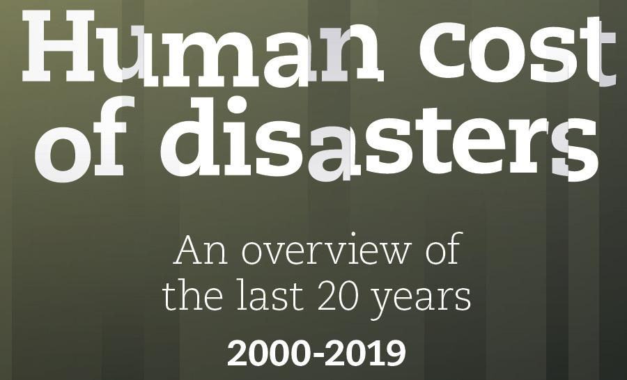 Cover of the Human Cost of Disasters