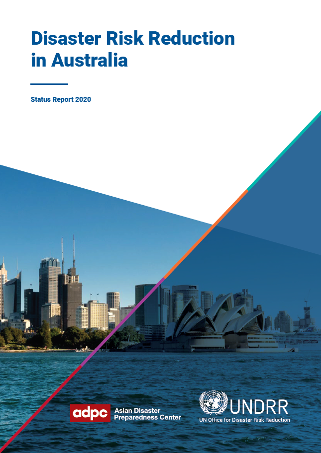Cover of Disaster Risk Reduction in Australia Status Report 2020