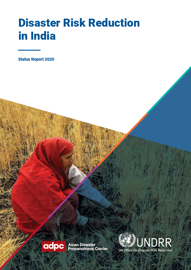 Cover of DRR in India Status Report 2020