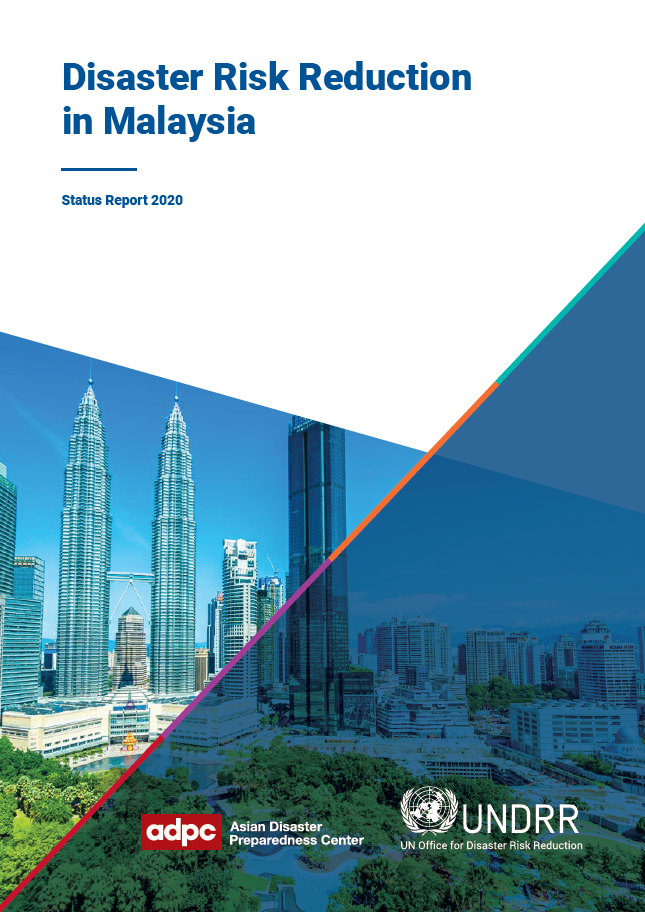 Cover of Disaster Risk Reduction in Malaysia Status Report 2020