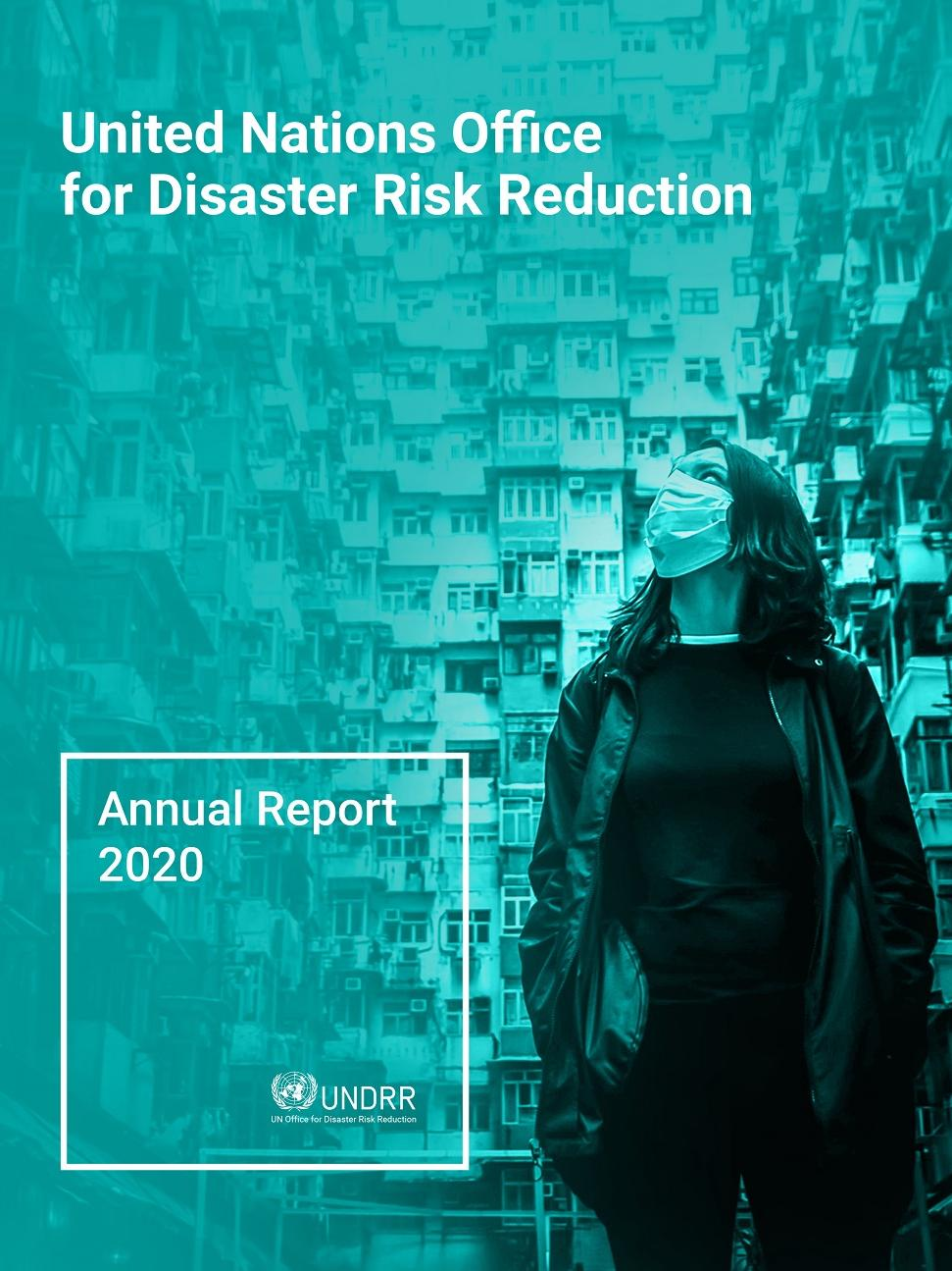 Cover image of the annual report 2020