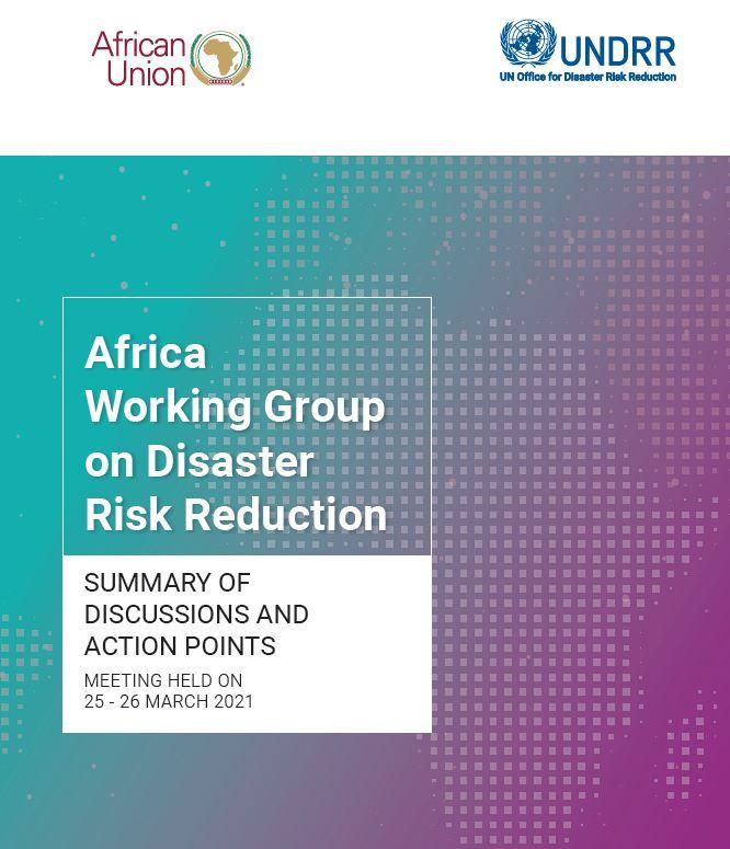 3rd Virtual African Working Group on DRR